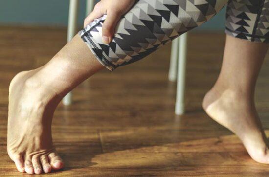 zakwasy na nogach